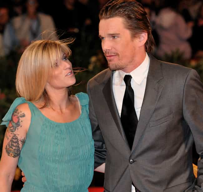 Ethan Hawke is listed (or ranked) 4 on the list Celebrities Who Hooked Up with Their Nannies
