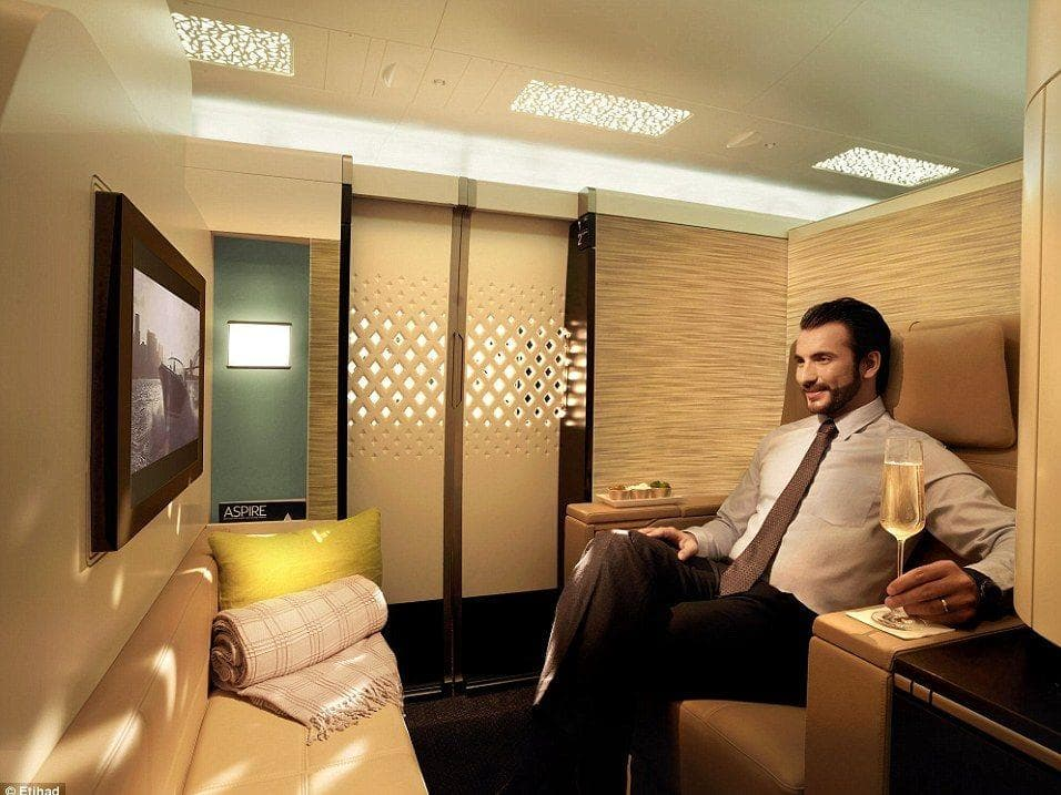 Random First Class on Different Airlines