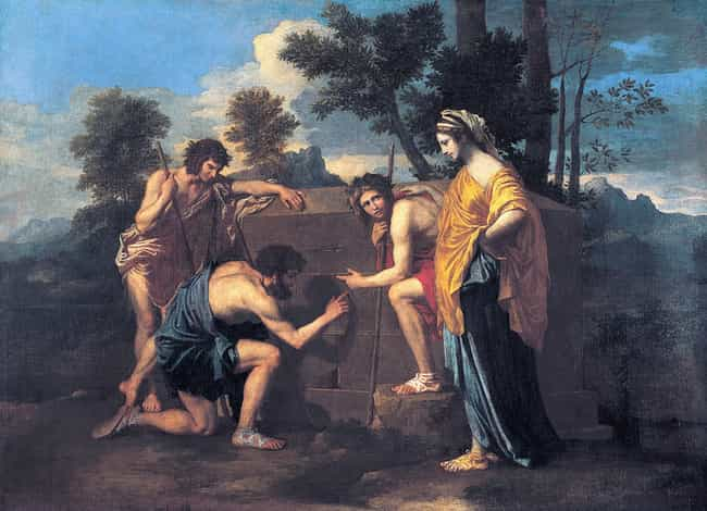 Et in Arcadia ego is listed (or ranked) 3 on the list Famous Nicolas Poussin Paintings