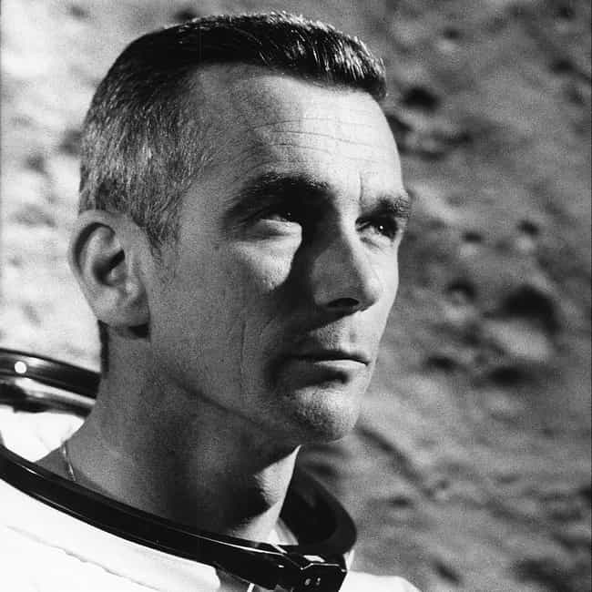 Eugene Cernan is listed (or ranked) 1 on the list The Hottest Male Astronauts in NASA History