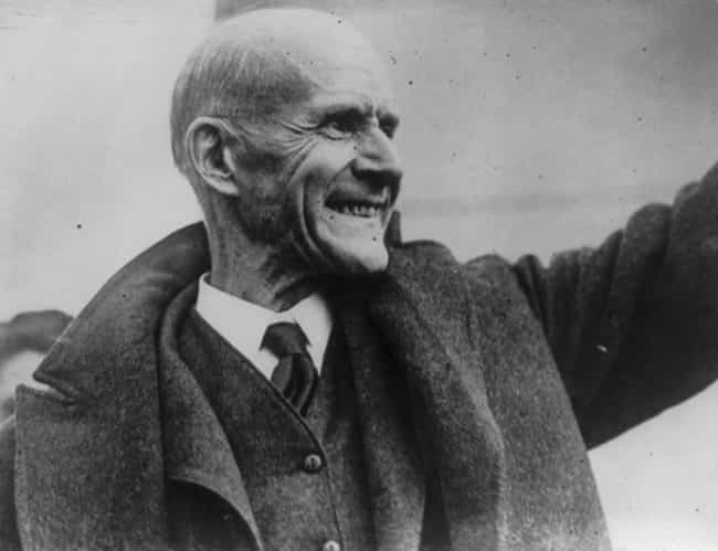 Eugene V. Debs is listed (or ranked) 4 on the list 10 American Politicians You've Never Heard of Who Basically Changed History
