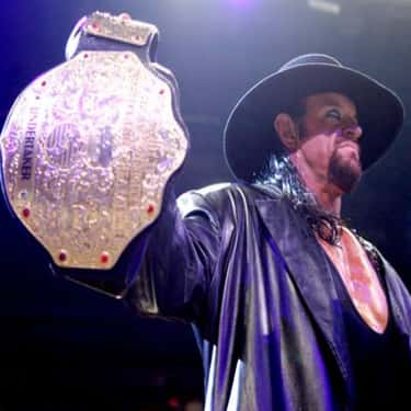 The Undertaker is listed (or ranked) 1 on the list The Best WWE World Heavyweight Champions