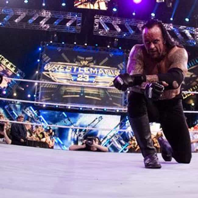 Undertaker is listed (or ranked) 2 on the list The Best WWE Royal Rumble Winners