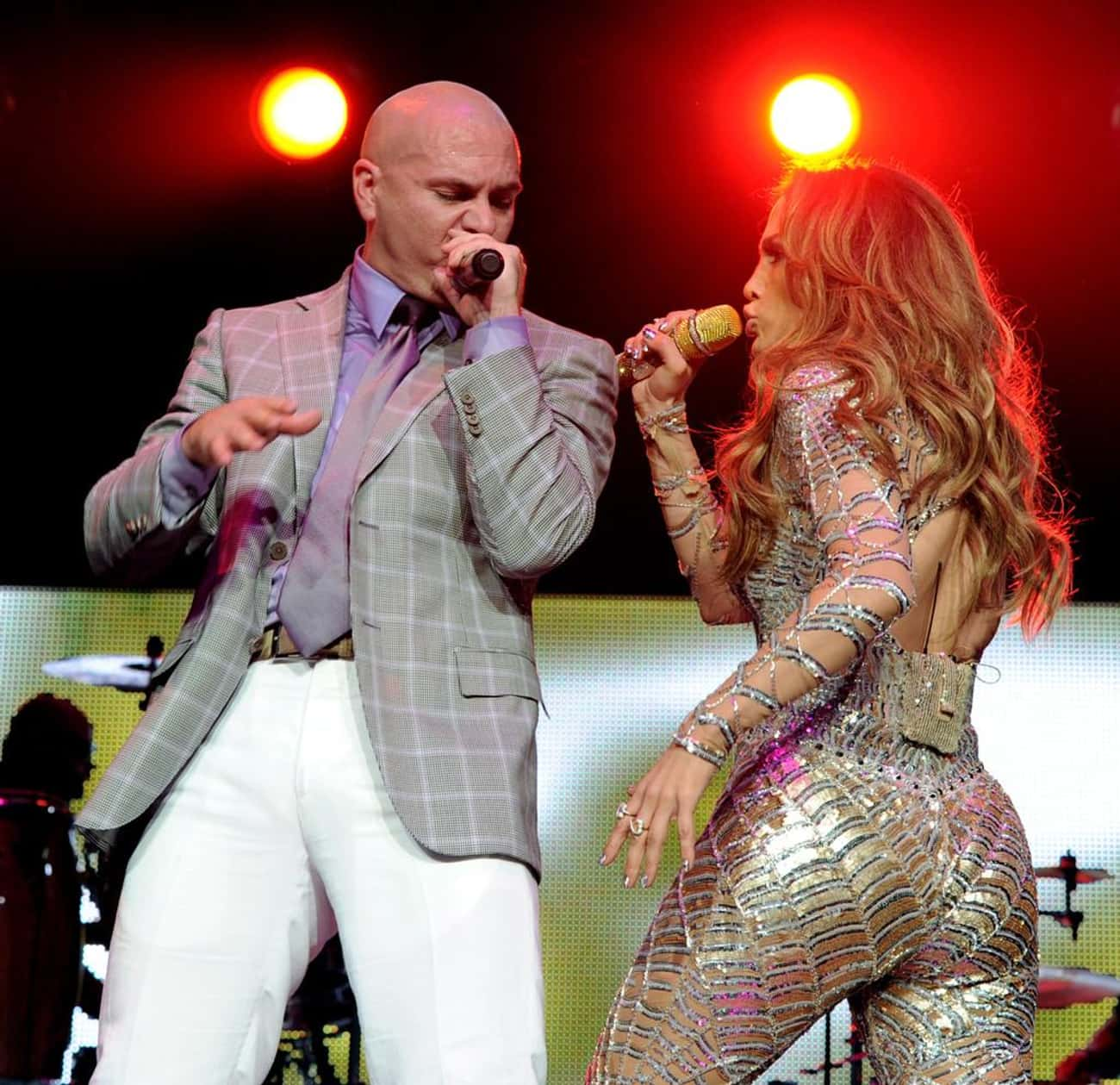 Pitbull is listed (or ranked) 3 on the list Famous Friends of Jennifer Lopez