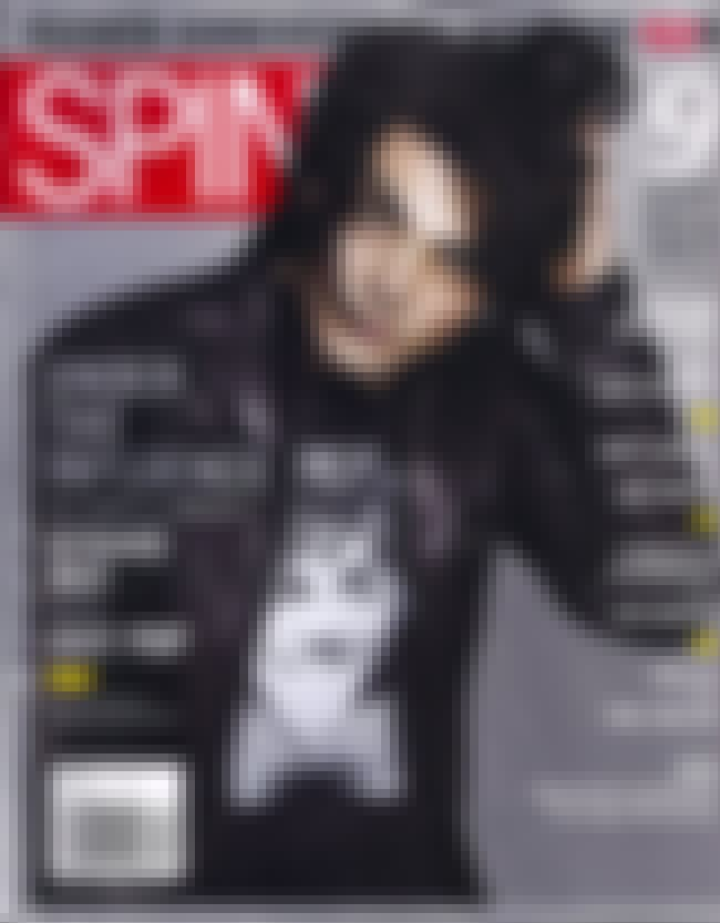 Gerard Way is listed (or ranked) 4 on the list The Best SPIN Covers