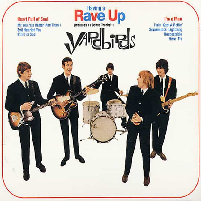 Having a Rave Up is listed (or ranked) 1 on the list The Best Yardbirds Albums of All Time