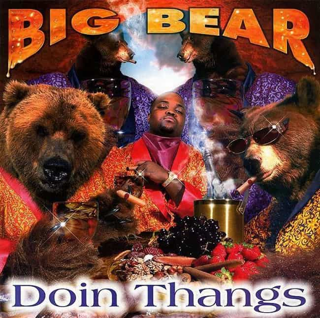 Doin Thangs is listed (or ranked) 2 on the list The Most Ridiculous Album Covers In Hip Hop History