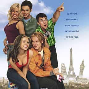 EuroTrip is listed (or ranked) 4 on the list The Best R-Rated Sex Comedies