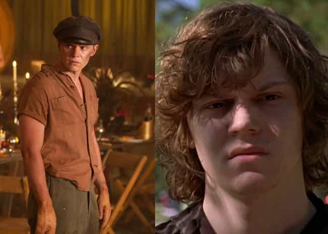 Evan Peters is listed (or ranked) 4 on the list Where You've Seen the American Horror Story Actors Before
