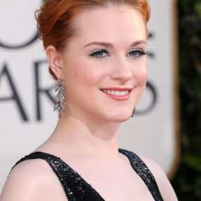 Evan Rachel Wood is listed (or ranked) 19 on the list The Most Attractive Redheads Ever