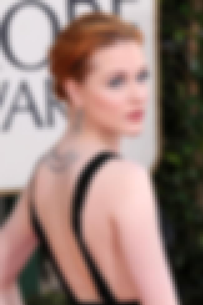 Evan Rachel Wood is listed (or ranked) 3 on the list Girls Marilyn Manson Has Banged