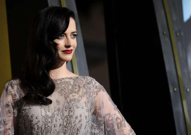 Eva Green is listed (or ranked) 47 on the list The Most Captivating Celebrity Eyes (Women)