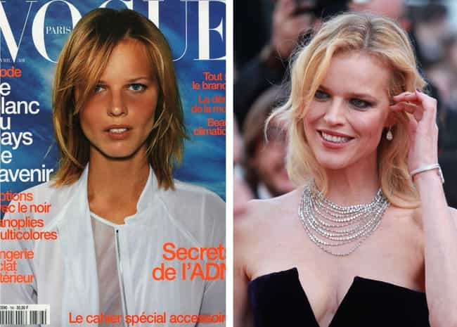 Eva Herzigová is listed (or ranked) 3 on the list '90s Supermodels Who Are Out There Succeeding In Other Fields