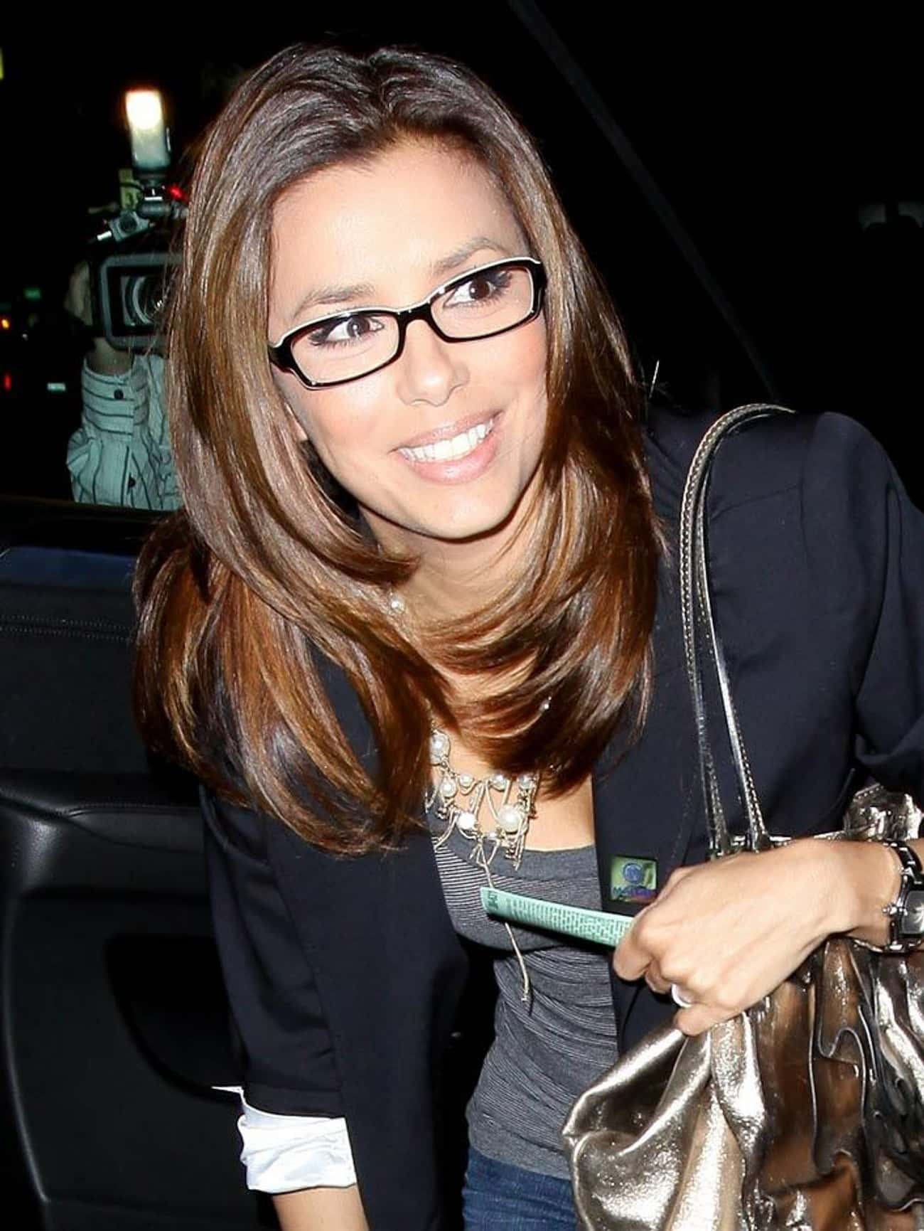 Eva Longoria is listed (or ranked) 3 on the list The Sexiest Famous Girls Who Wear Glasses