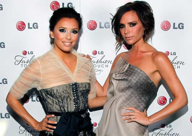 Eva Longoria is listed (or ranked) 1 on the list Famous Friends of Victoria Beckham