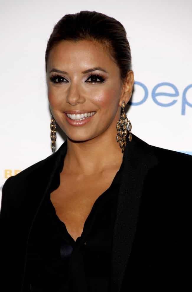 Eva Longoria is listed (or ranked) 6 on the list 80 Famous People with ADHD