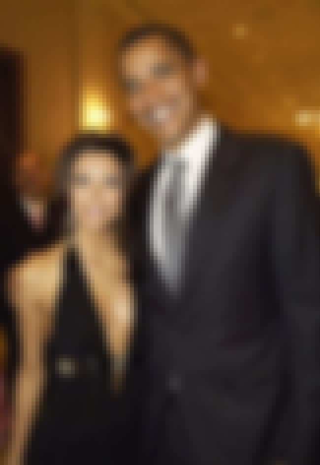 Eva Longoria is listed (or ranked) 7 on the list Famous Friends of Barack Obama