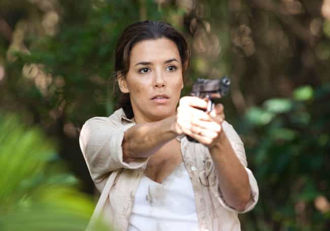 Eva Longoria is listed (or ranked) 3 on the list 47 Famous People Who Own Guns