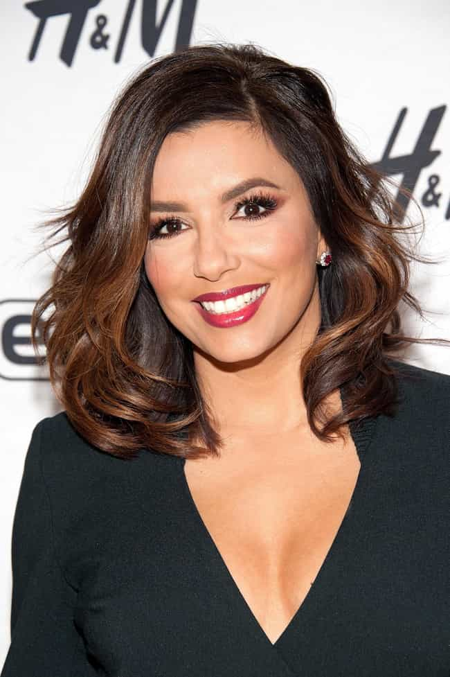 Eva Longoria is listed (or ranked) 2 on the list Celebrities Who Wear Christian Louboutin
