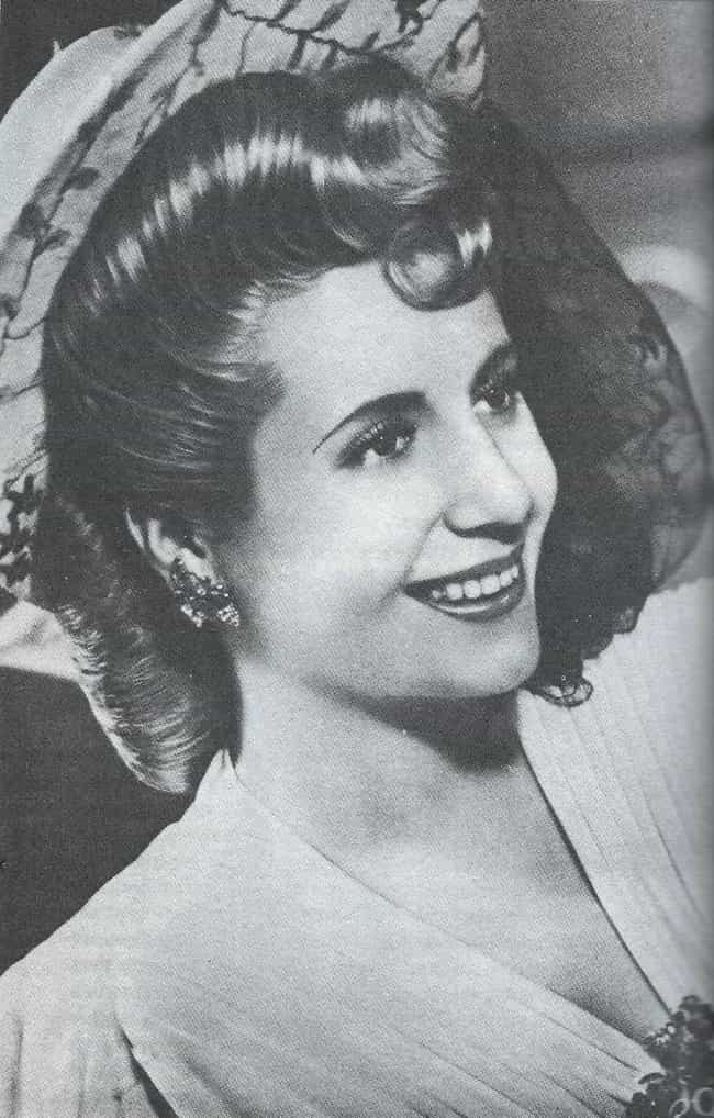 Eva Perón is listed (or ranked) 2 on the list Political Wives Who Overshadowed Their Husbands