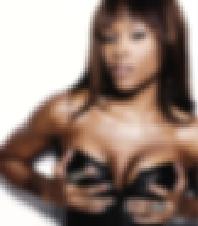 Eve is listed (or ranked) 4 on the list The Sexiest Female Rappers