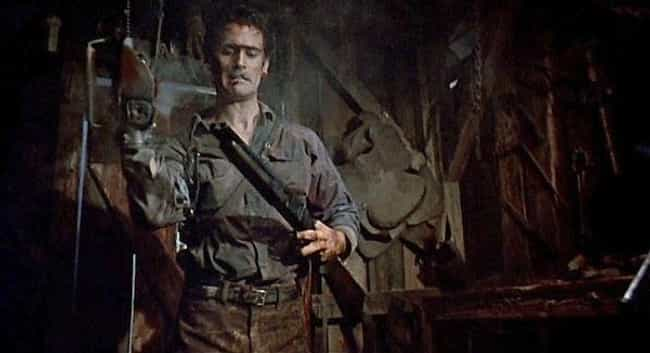 Evil Dead II is listed (or ranked) 7 on the list The Dumbest Fictional Weapons Of All Time