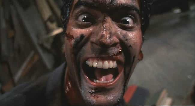 Evil Dead II is listed (or ranked) 2 on the list Feel-Good Horror Movies To Watch During Difficult Times