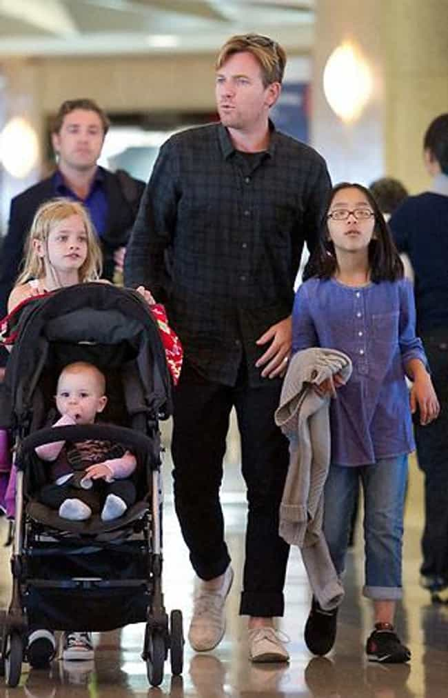 Ewan McGregor is listed (or ranked) 2 on the list 12 Celebrities Who Adopted Children from Asia