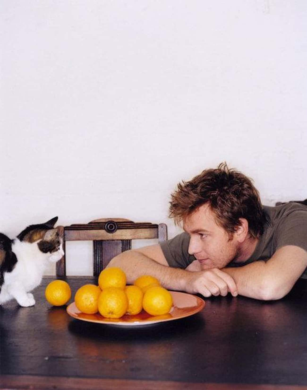 Ewan McGregor is listed (or ranked) 4 on the list 75+ Celebrities Who Are Cat People