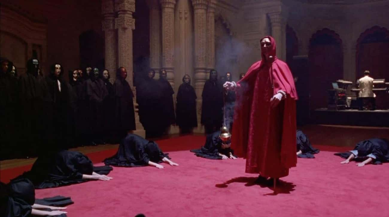 Eyes Wide Shut is listed (or ranked) 3 on the list Depictions Of Satanic Rituals In Film