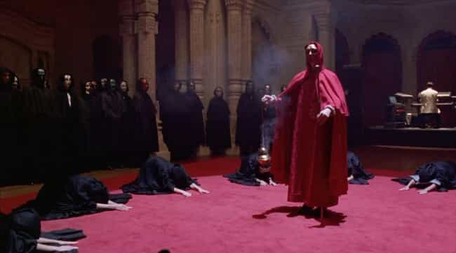 Eyes Wide Shut is listed (or ranked) 2 on the list Depictions Of Satanic Rituals In Film