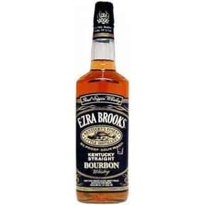 Ezra Brooks is listed (or ranked) 20 on the list The Best American Whiskey