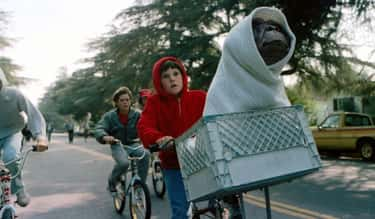 E.T. the Extra-Terrestrial is listed (or ranked) 2 on the list 12 Children's Movies Where Parents Lived Through A Nightmare While Their Kids Had An Adventure