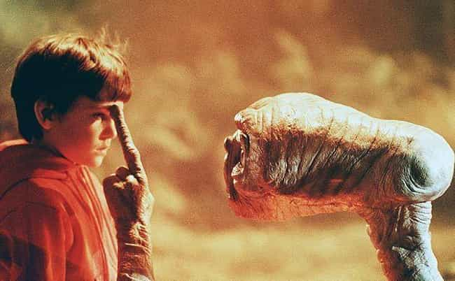 E.T. the Extra-Terrestrial is listed (or ranked) 1 on the list Seemingly Happy Movie Endings With Unhappy Consequences