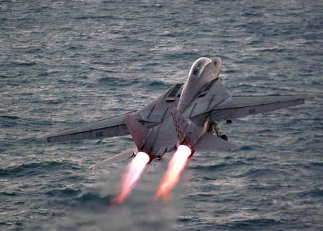 Grumman F-14 Tomcat is listed (or ranked) 4 on the list The Sexiest Military Aircrafts