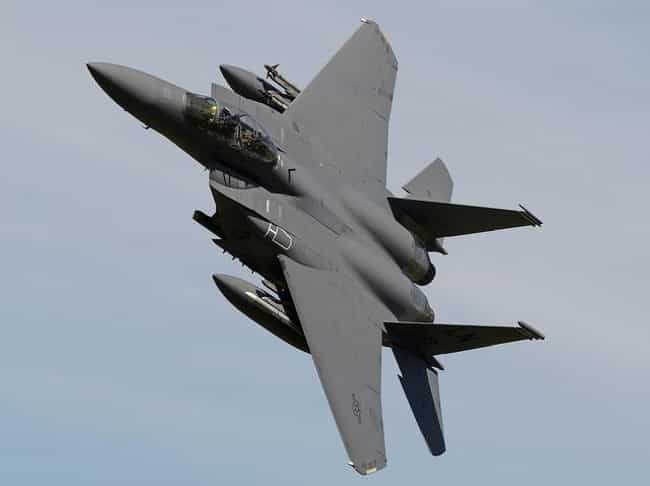 McDonnell Douglas F-15E Strike... is listed (or ranked) 3 on the list The Sexiest Military Aircrafts