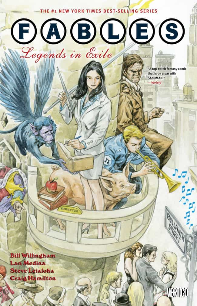 Fables is listed (or ranked) 3 on the list 24 Criminally Underrated Indie Comics You Should be Reading