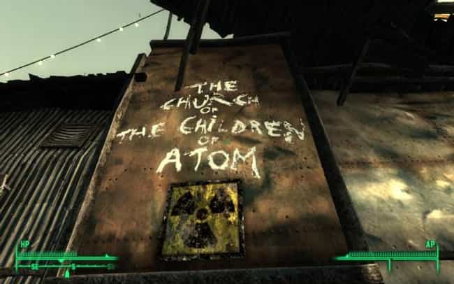 Fallout 3 is listed (or ranked) 1 on the list The Coolest Religions in Video Games