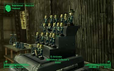 Bobbleheads In 'Fallout 3' is listed (or ranked) 1 on the list What's The Most Enjoyable Thing To Collect In A Video Game?