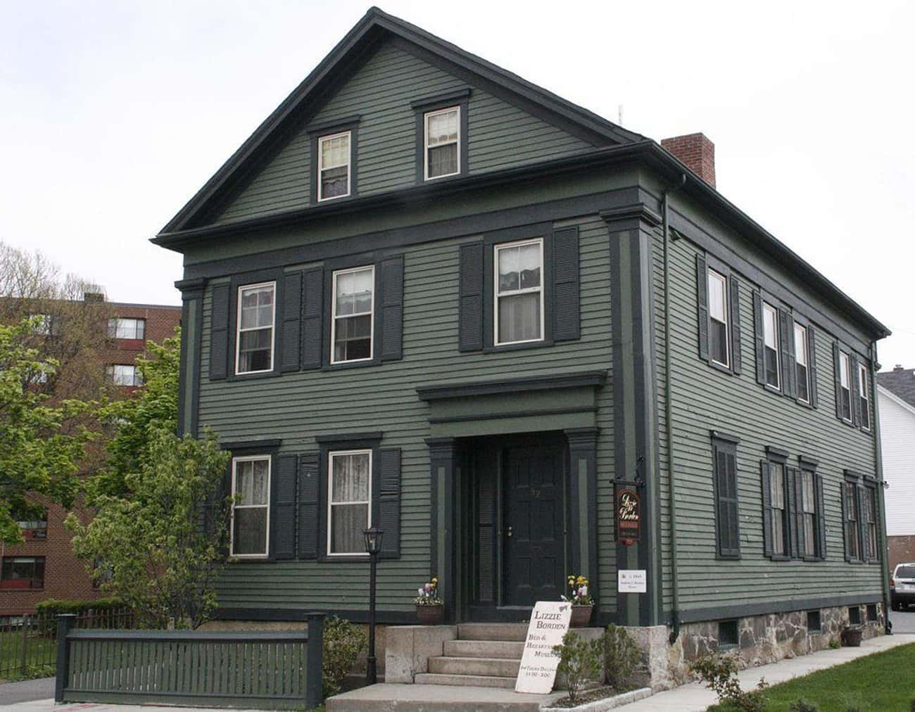 The Spirit Of Abby Borden Can Be Heard Weeping At The Lizzie Borden Bed-And-Breakfast In Fall River, MA