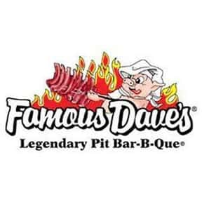 Famous Dave's is listed (or ranked) 22 on the list The Best Bar & Grill Restaurant Chains