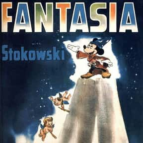 Fantasia is listed (or ranked) 22 on the list Disney Movies with the Best Soundtracks, Ranked