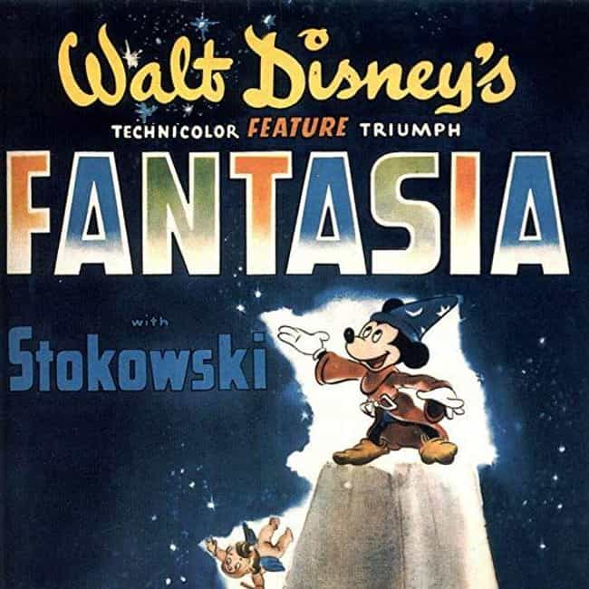 Fantasia is listed (or ranked) 4 on the list The Most Colorful Movies Ever Made