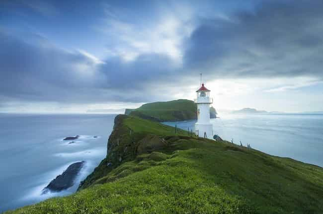Faroe Islands is listed (or ranked) 2 on the list Countries in Scandinavia