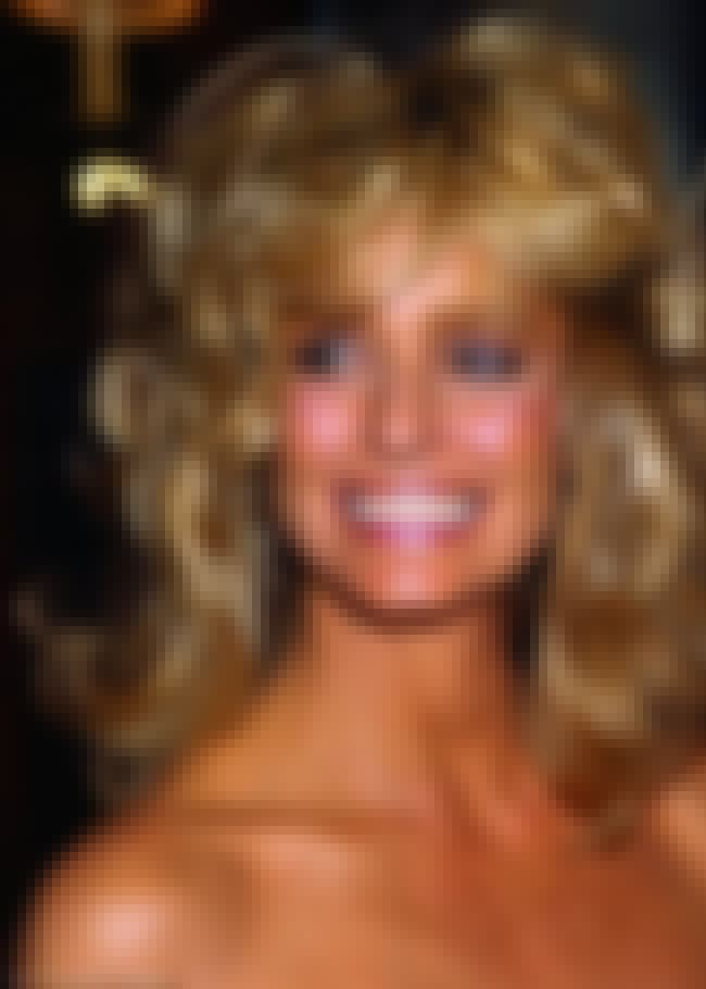 Farrah Fawcett is listed (or ranked) 3 on the list 35 Celebrities Who Spray Tan