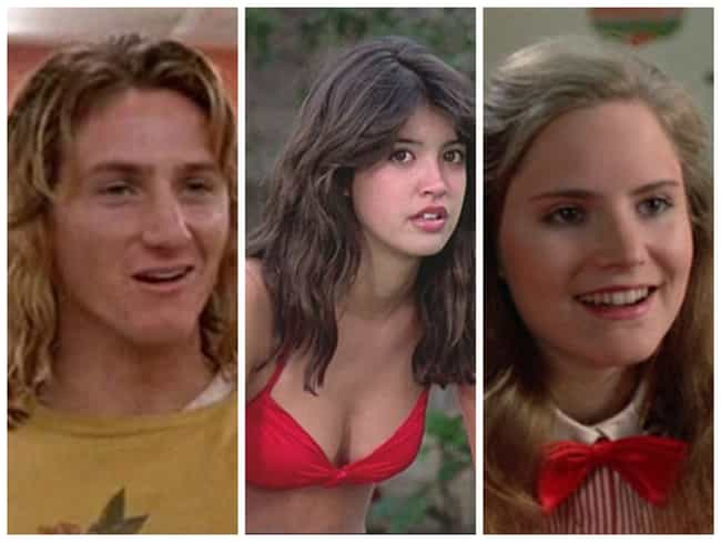 Fast Times at Ridgemont High is listed (or ranked) 2 on the list The Sexiest Movie Casts from the 80s