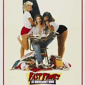 Fast Times at Ridgemont High is listed (or ranked) 19 on the list The Best Nicolas Cage Movies