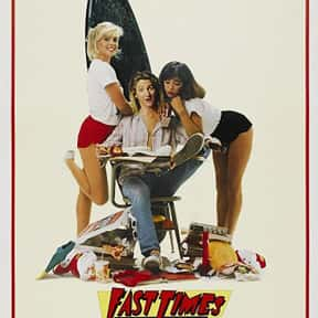 Fast Times at Ridgemont High is listed (or ranked) 7 on the list The Best R-Rated Sex Comedies