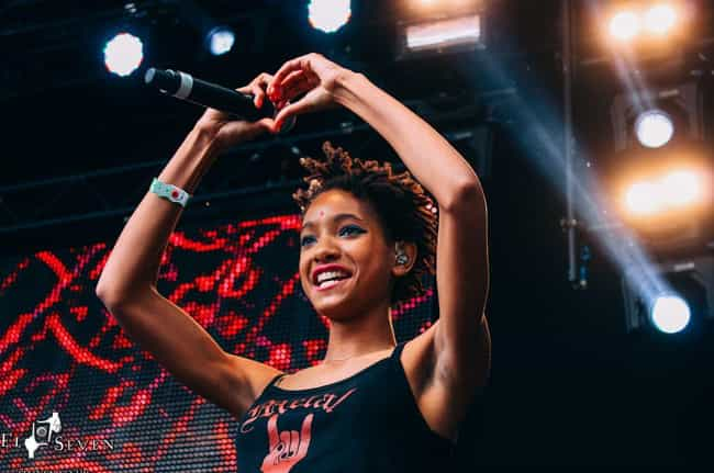 Willow Smith is listed (or ranked) 3 on the list Celebrities Who Came Out In 2019