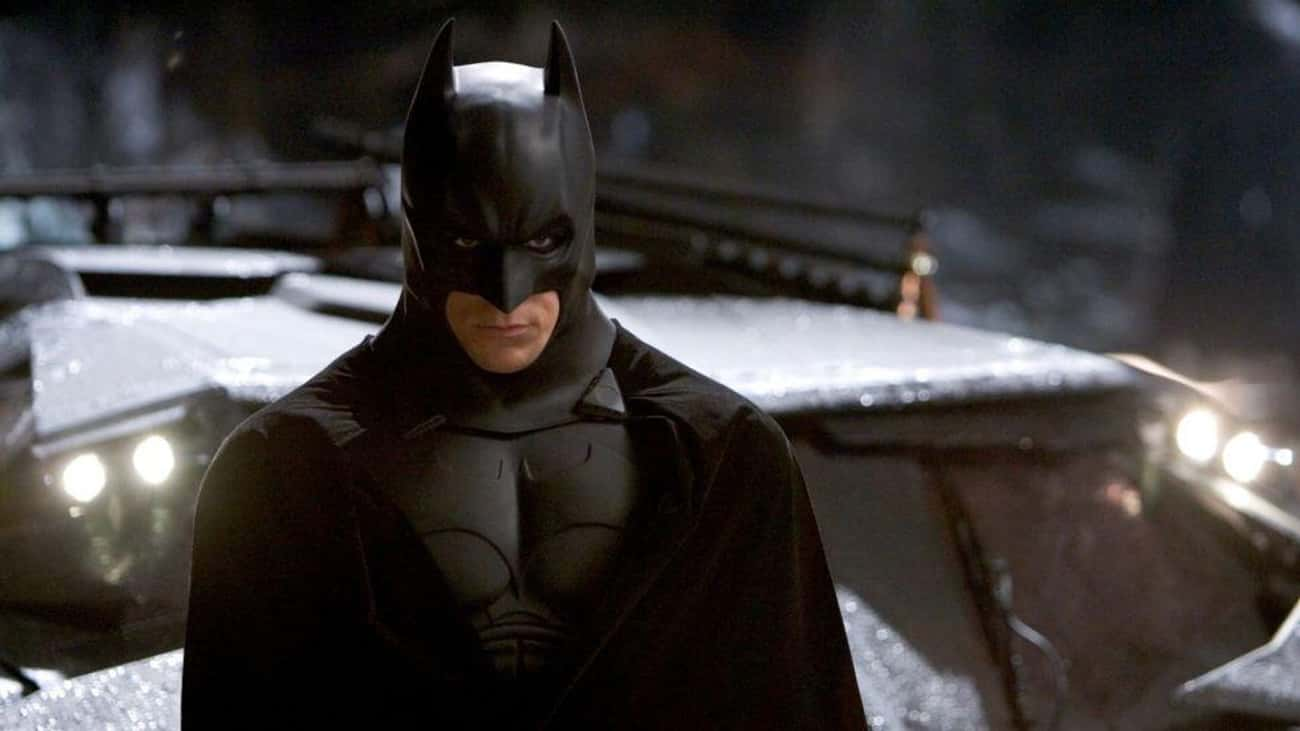Christian Bale's Batman Costum is listed (or ranked) 3 on the list The Least Comfortable Superhero Costumes That Actors Have Had To Wear